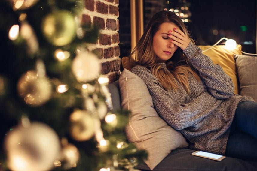 Facing the Holidays With Major Depression When Family Is a Source of Stress
